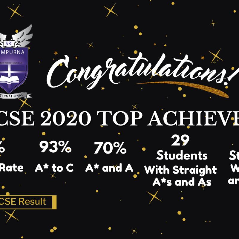 IGCSE Top Achievers